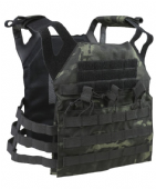 British Terrain Pattern Black Special Operations Jump Plate Carrier